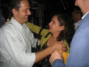 Silvana com Eduardo